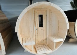 Barrel sauna Tuindeco