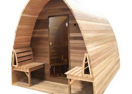Sauna pod Hemlock - Infra4Health