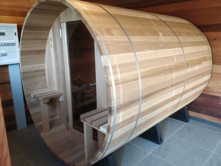 Barrel sauna Almost Heaven