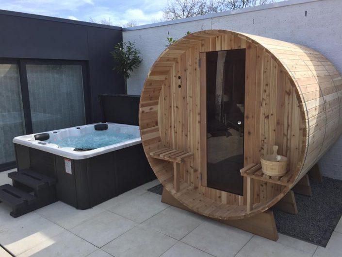 Barrel sauna in Enschede