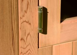 Barrel sauna Clear Almost Heaven detail
