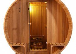 Barrel Sauna Clear - Infra4Health