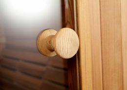 Infra4Health Barrel sauna detail