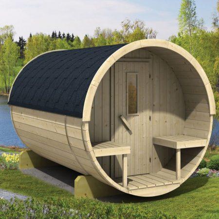 Barrel sauna 300 Thermowood