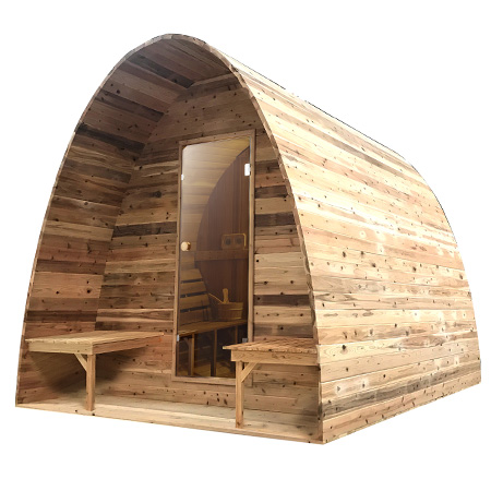Sauna pod Red Cedar Knotty - Infra4Health